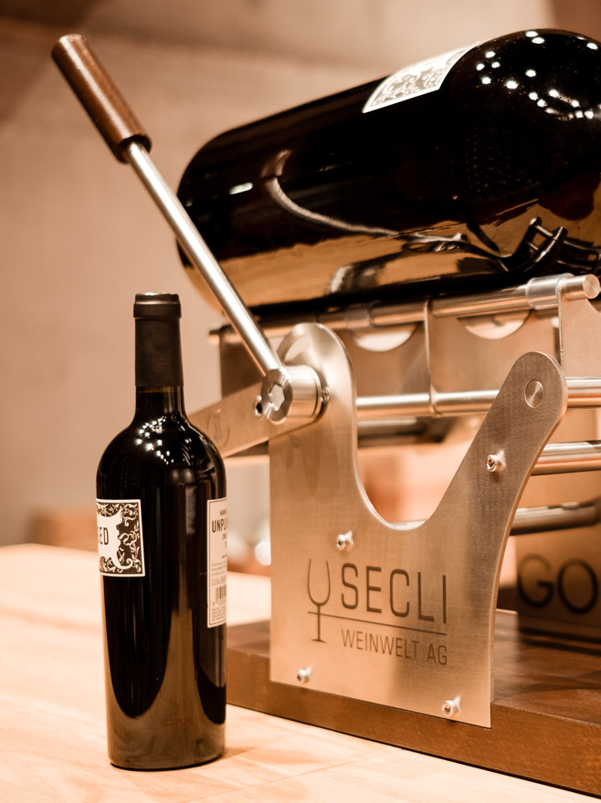 SECLI Weinwelt Grossflaschen