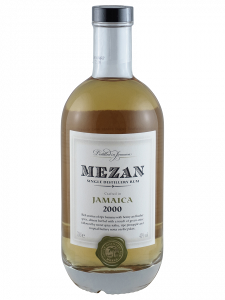 Mezan Rum Single Distillery Jamaica