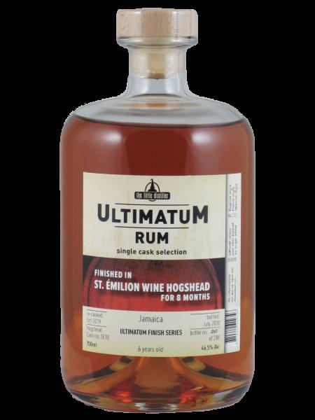 Ultimatum Rum 6 YO St. Emilion Finish