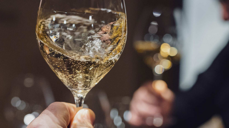 SECLI Weinwelt Champagner Glas