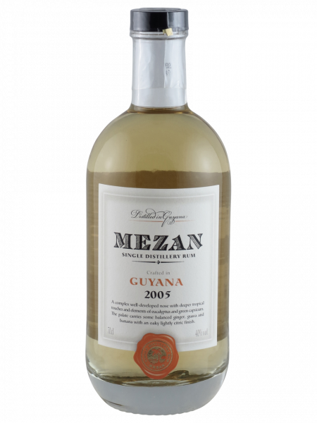 Mezan Rum Single Distillery Guyana
