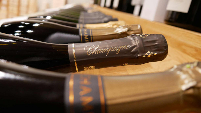 SECLI Weinwelt Champagner Shop