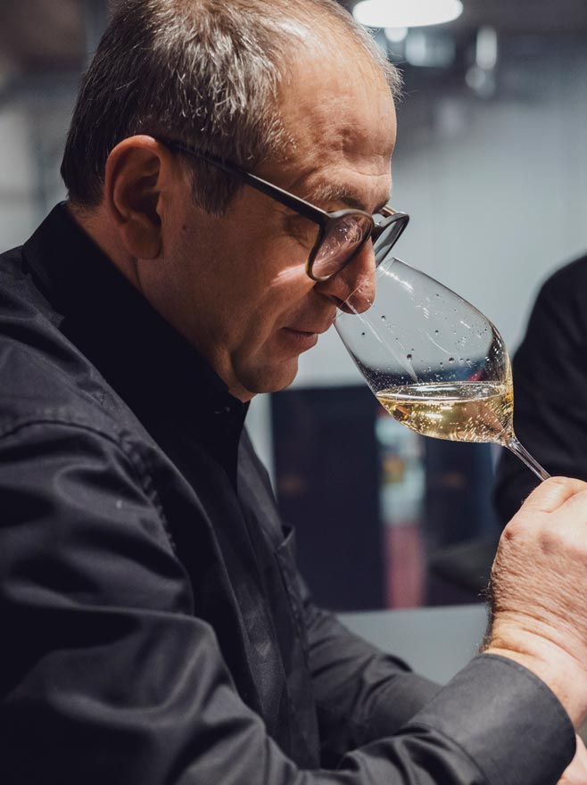 SECLI Weinwelt Champagner Verkostung