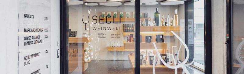 SECLI Weinwelt Laden Buchs
