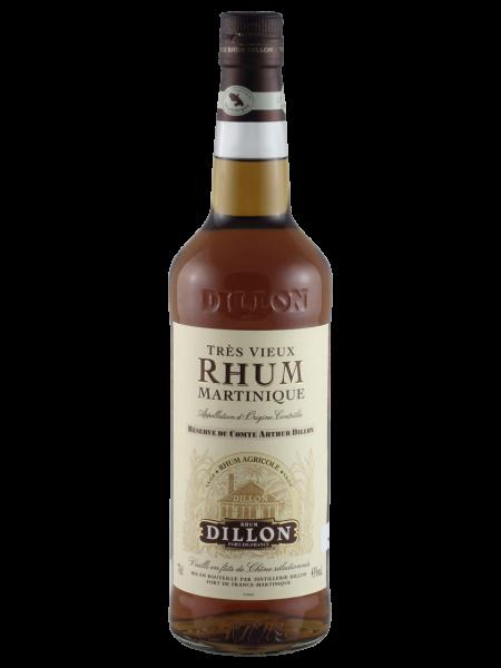Réserve Comte Arthur Dillon Tres Vieux VSOP Rum
